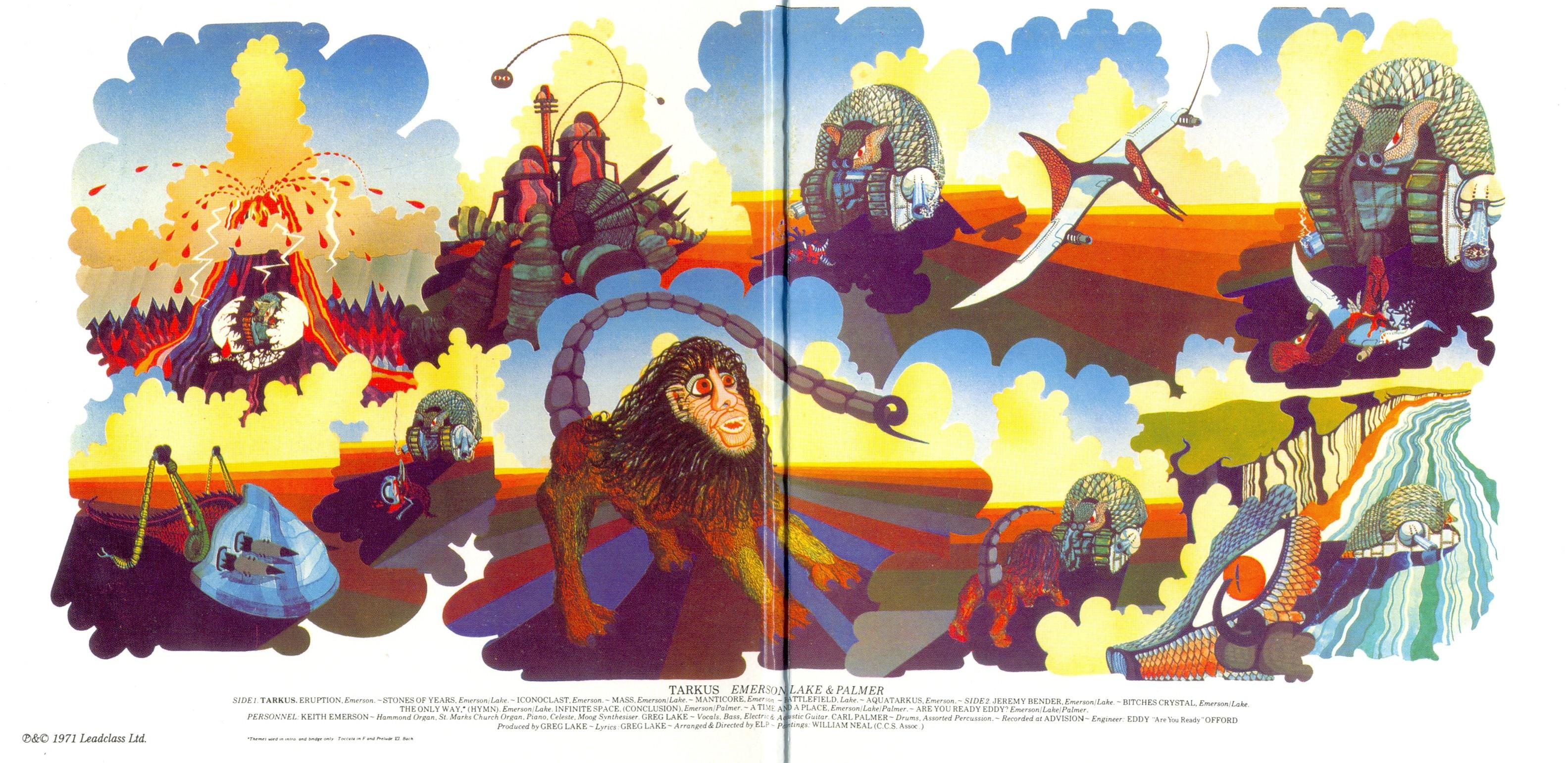 Riletture Emerson Lake Amp Palmer Tarkus Island Records