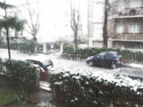 Neve a Stonecity dall'ufficio di Nonantolaslim - foto di TT