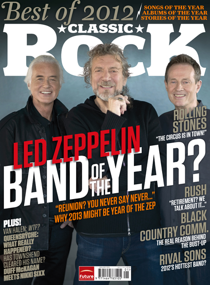 Classic Rock Led Zeppelin cover dec 2012