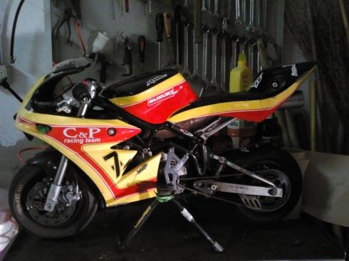 La minimoto della Speedqueen - foto di TT