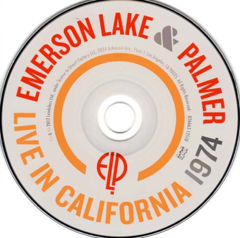 ELP Live In California 1974 cd   010