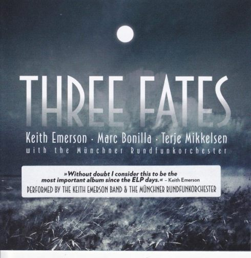 Keith Emerson Three Fates front