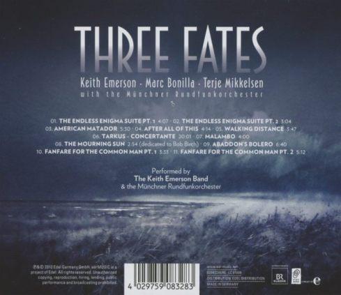 Keith Emerson Three fates a