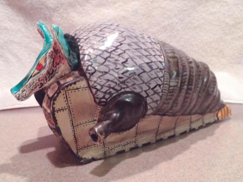 Tarkus in ceramica (1980)