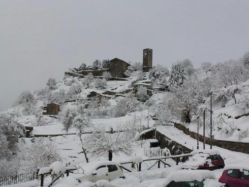 Snow on Trombetti 's hideaway -  Sassi 14.1.2013 - Foto courtesy of  GCT