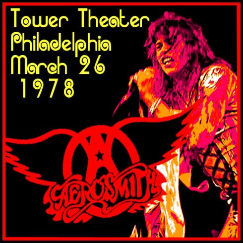 Aerosmith Philly 28-03-1978