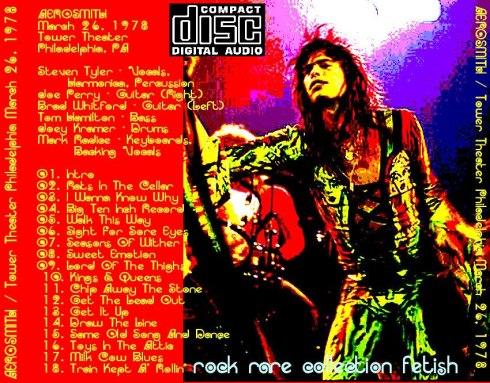 Aerosmith Philadelphia 26-03-1978