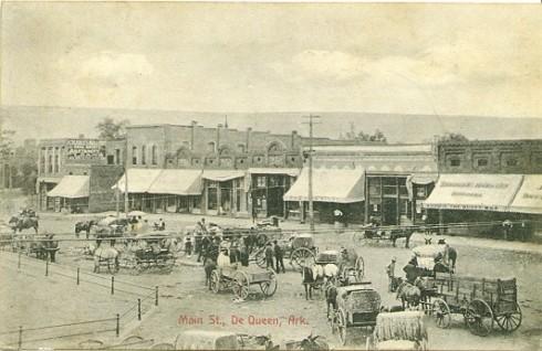 Dequeen Postcard1910
