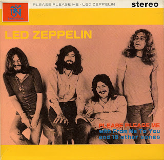 Bootleg led Zep Japan 71