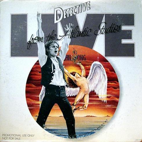 detective live from atlantic studios NY 21/12/1977 front