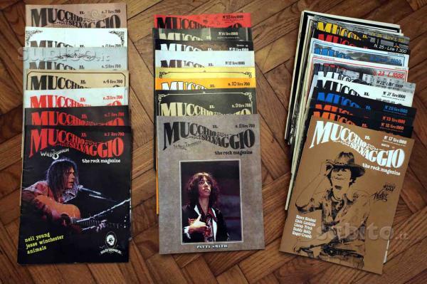 Cifre di vendita dei giornali musicali italiani (courtesy of Max Stefani) (1/3)