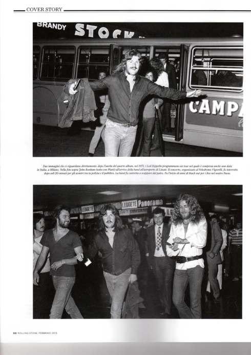 Led Zeppelin Milano luglio 1971