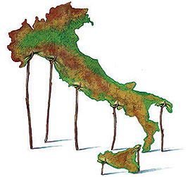 Italia malmessa