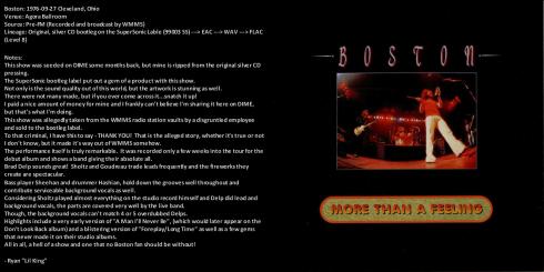 Boston live 1976