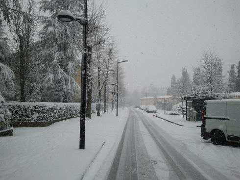 Stonecity con la neve - foto di TT