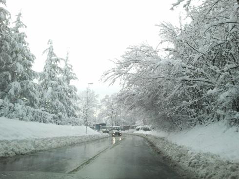 Stonecity superfiga sotto la neve - foto di TT