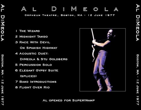 Al DiMeola 1977-06-12 bk