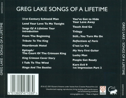 greg lake SOALT 2013 back