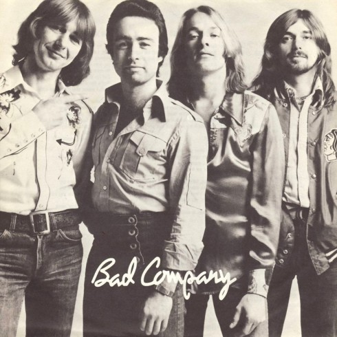 Bad Co da sx a dx Mick Ralphs, Paul Rodgers, Simon Kirke, Boz Burrell