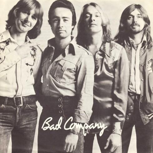Bad Co da sx a dx Mick Ralphs, Paul Rodgers, Simon Kirke, Boz Burrell