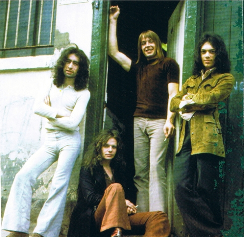 FREE - da sx adx Paul Rodgers, Paul Kossoff, Simon Kirke, Andy Fraser