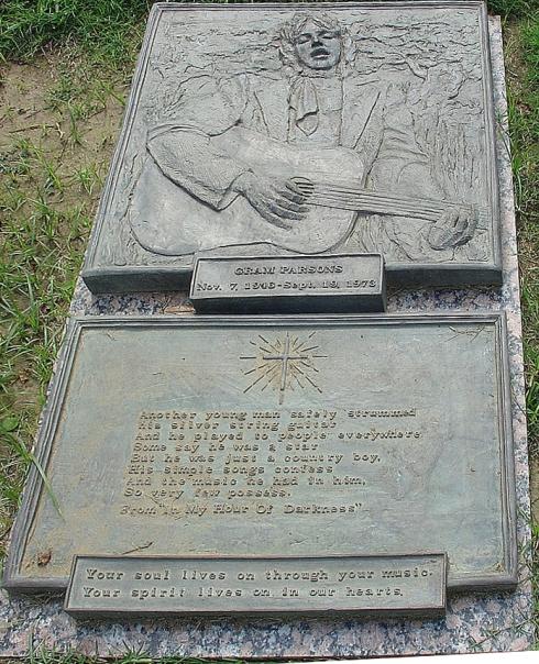 Gram Parsons Grave