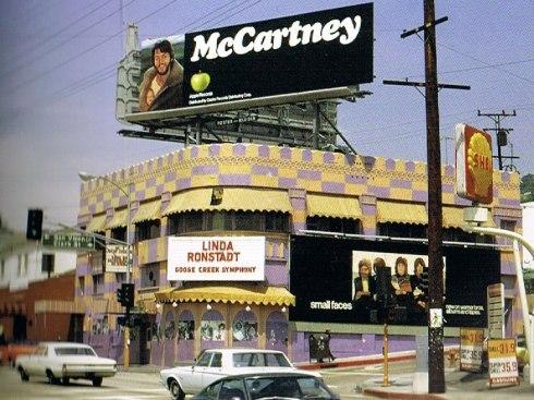 McCartney Small Faces Linda Ronstadt billboard