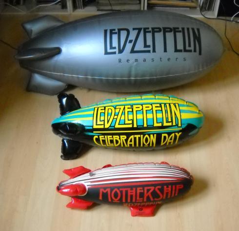 Led Zeppelin blimps