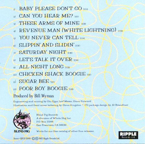 Willie And The Poor Boys - Willie And The Poor Boys - Inside