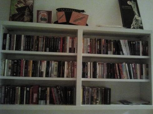 Tim Tirelli's digipack/deluxe editions shelf unit