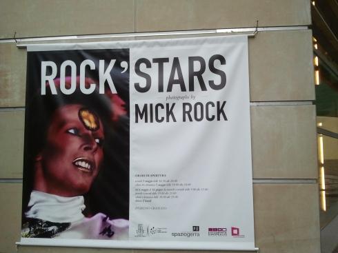 "Spaziomarcogerra RE - Mostra ""Rockstars"" di Mick Rock"