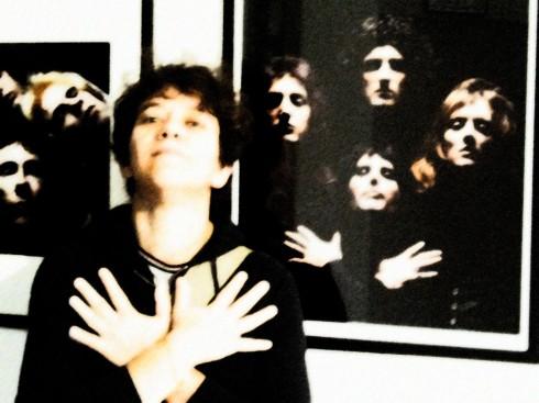 RE spaziomarcogerra - Rock Stars by Mick Rock - La groupie versione Marlene Mercury - foto di TT