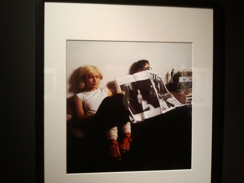 RE spaziogerra -*Mick Rock BLONDIE