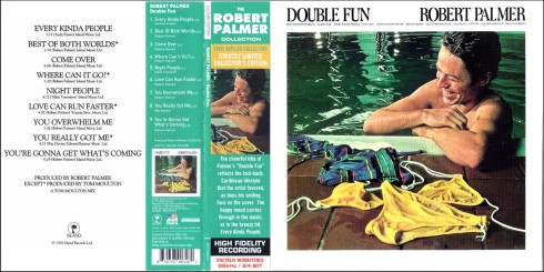 Robert Palmer Double Fun front cover