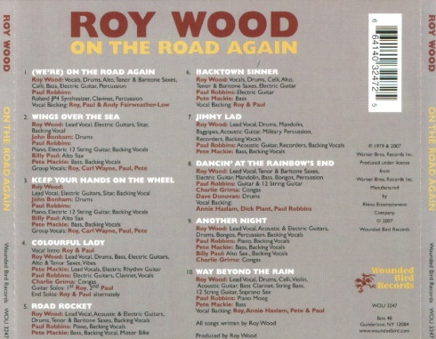 Roy Wood - On The Road Again - Back