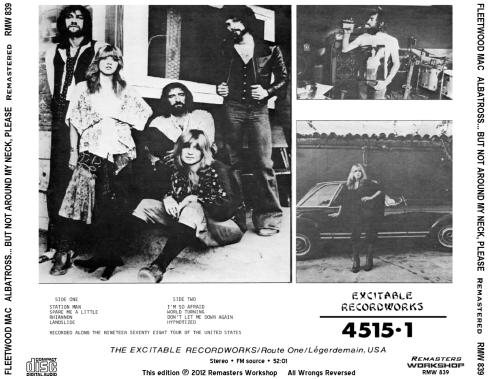 Fleetwood Mac - Albatross - back