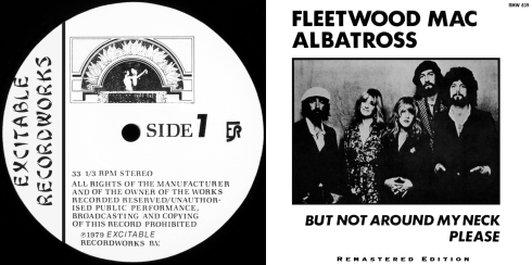 Fleetwood Mac - Albatross - front booklet