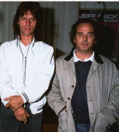 M Bonelli e Jeff Beck