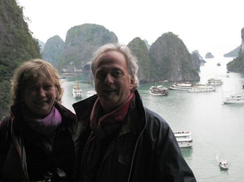 M Bonelli & Ivana in Vietnam