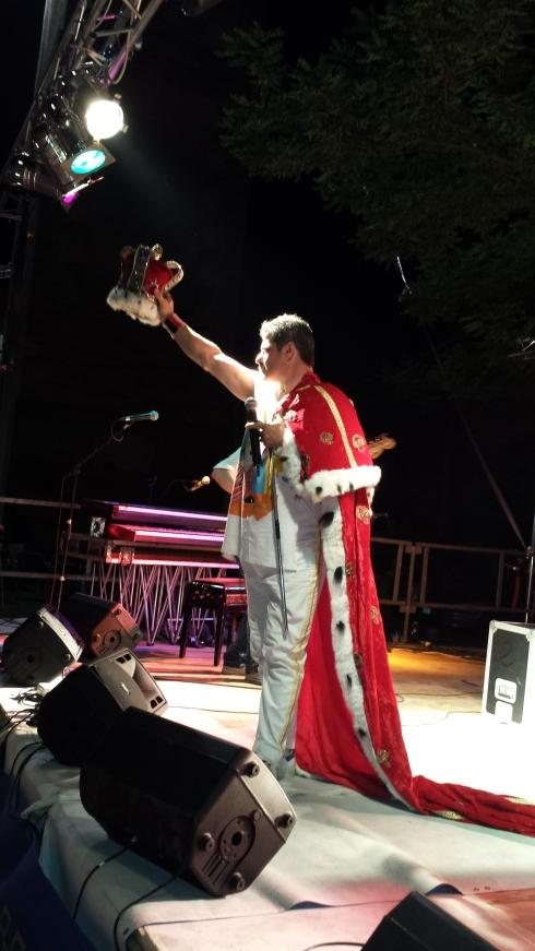 MerQury Band - Live in Massenzatico 2013 - Ferdinando Altavilla - foto di LST