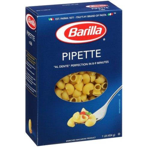 Le pipette Barilla