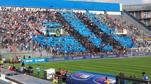 Sassuolo-Inter 22-9-13 - curva intersita - foto di Saura Terenziani