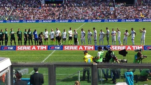 Sassuolo-Inter 22-9-73 - foto di Saura Terenziani