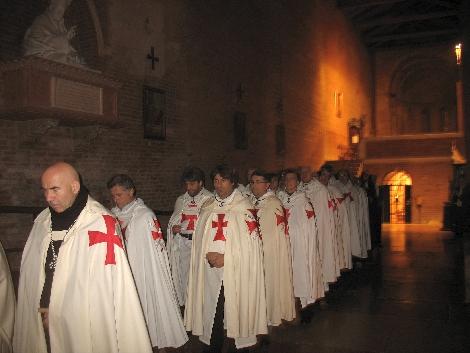 Templari nell'abbazia di NNT