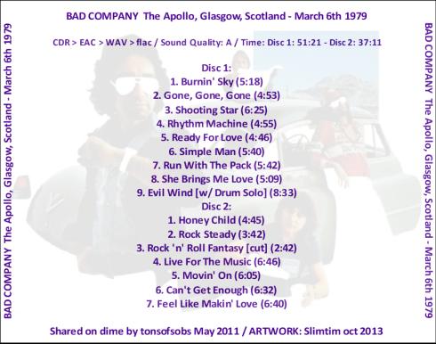 Bad Co Glasgow 6-3-1979 b
