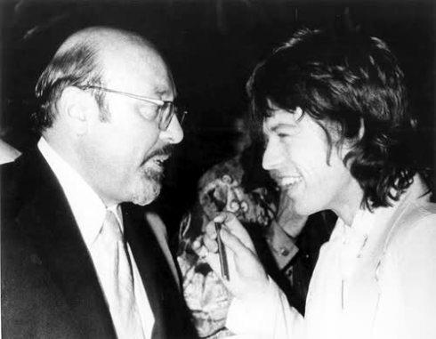 Ahmet Ertegun & Mick Jagger