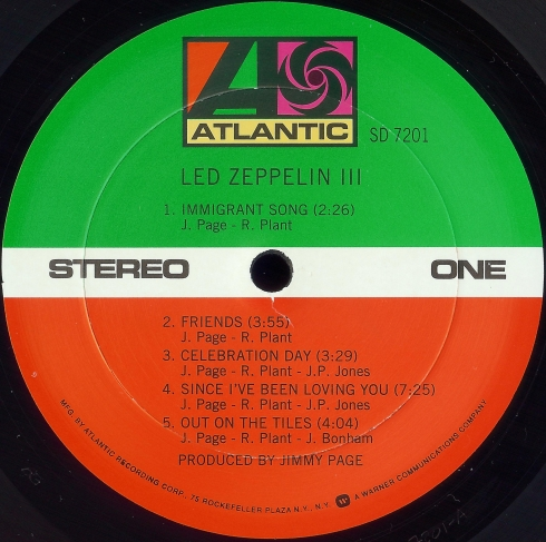 Atlantic Led Zeppelin