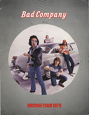 BAD COMPANY - british tour 1979 programme