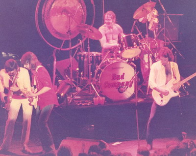 BAD COMPANY - Wembley 1979 photo by Addy Nijenboer