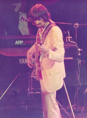 BOZ BURRELL - Wembley 1979 photo by Addy Nijenboer